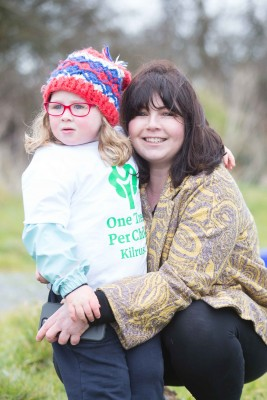 "**NO REPRO FEE** Ella Meehan and her Mother Judith Ryan at the ""One Tree per Child"" initiative at Active Kilrush Sports Project. Kilrush Tidy Towns, in partnership with local schools and Clare County Council, have embarked on an initiative to ensure every child will plant a tree of their own As part of National Tree Week. Photograph by Eamon Ward"