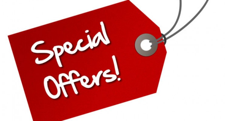red Special Offer Sign