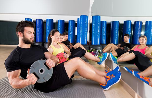 Fitness-Class-cardio tone